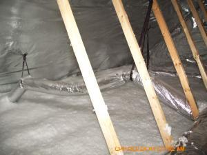 radiant barrier in crawlspace